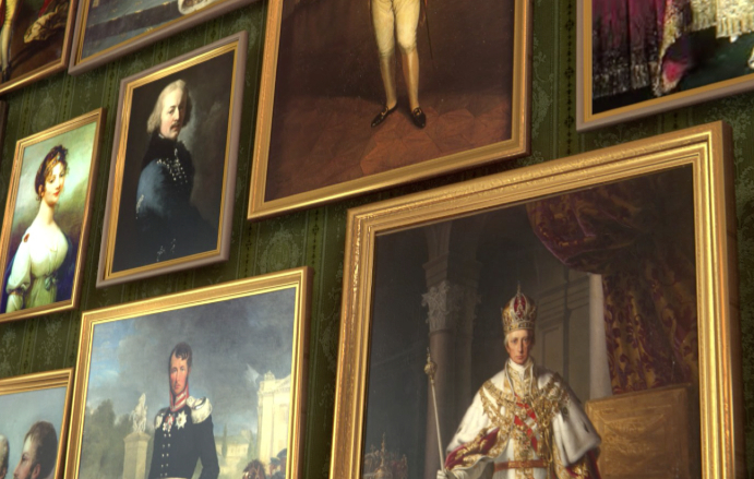 """Friedrich August"" virtual gallery"