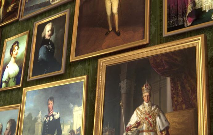 """Friedrich August"" virtual gallery"