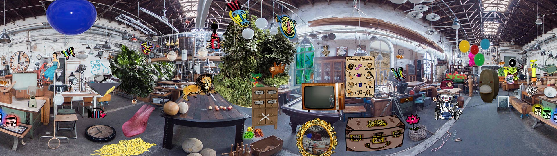 main cabinet panorama